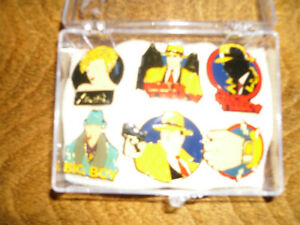 DICK TRACY PINS