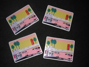 Cafe placemats with Diner scene