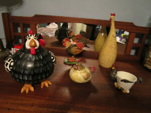 Rooster, Chicken, Hen, Home Decor, Country Chic