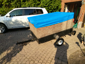Utility Trailer 4 x 6ft