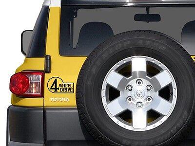 Toyota Land Cruiser FJ40 FJ43 FJ55 BJ40 Rear Emblem 4WD Sticker Decal