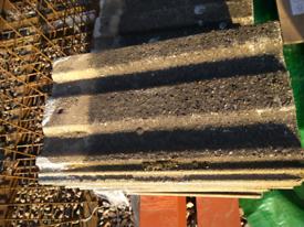 Reclaimed Redland Concrete Roof Tiles