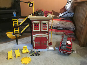 Fisher Price Fire Station and Truck