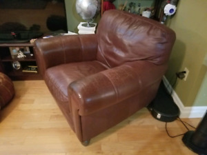 Leather Chair Brown