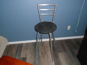 swivel metal bar stool