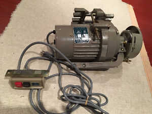 2 x Industrial Grade Sewing Machine Motors - Perfect Condition !