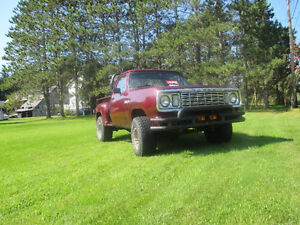 Dodge Power Wagon 1978
