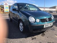 Volkswagen polo 1.4 TDI excellent condition service history £30 tax