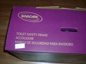 INVACARE - TOILET SAFETY FRAME (NEVER USED)