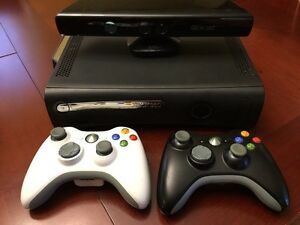 X-Box 360 with Kinnect and Games