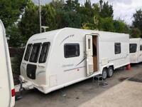 Bailey Olympus 624 4 Berth caravan FIXED BED, Twin Axle, Awning Bargain !