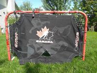 Screen de tire pour but de hockey neuf de qualité professionnel