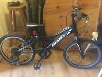 Childs GIANT mountain bike