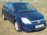 Vauxhall Zafira 1.7CDTi ELITE 7 LEATHER SEATS ,CRUISE , CLIMATE, ONLY 35000 MLS