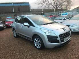 2010(60) Peugeot 3008 Crossover 1.6HDi ( 110bhp ) FAP 6sp Active Silver 5dr