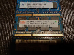 10 gigs of DDR3 laptop ram