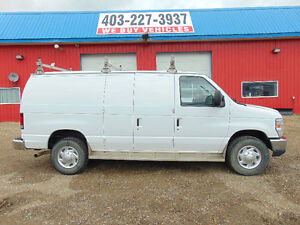 2010 Ford E-350 Commercial Cargo Van  LOW MILEAGE 56351
