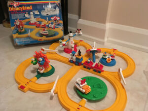 Vintage Disney Train Set