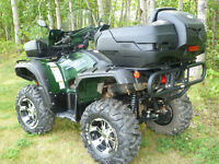 YAMAHA GRIZZLY / ALUMINUM TRAILER
