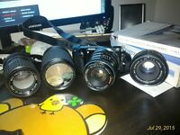 Sony NEX-5T + 4 Lenses + Accessories