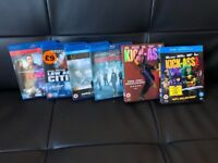 Great Selection of All ACTION Blu-rays