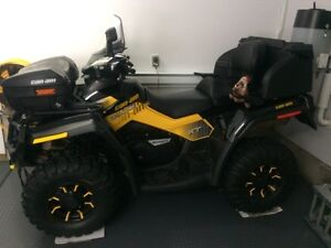 can-am outlander 800 xtp max 2up seat