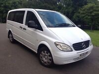 Mercedes Benz vito 109 Cdi lwb 9 seater with disability access