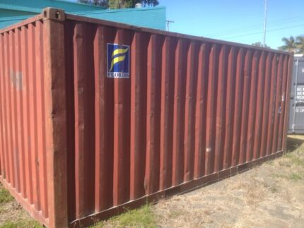 Budget 20ft Shipping Container  Bundaberg Central Bundaberg City Preview