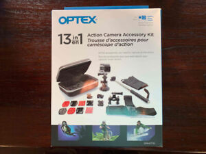Optex Action Camera Accessories Kit 13in1