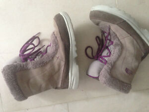 Greyish purple snowshoe for girls Size 3