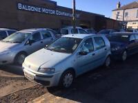 2003 03 FIAT PUNTO 1.2 ACTIVE 5DR