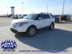 2011 Ford Explorer Limited    - Leather- Navigation - 6 Passenge