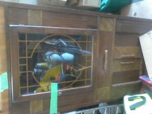 For sale a China cabinet made in the 1930s