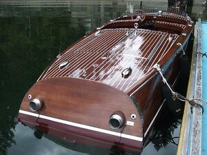 St. Clair 21 ft Rounabout Barrelback