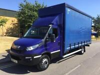 2015 Iveco Daily 70C17 7T Curtainside Manual Curtain Side