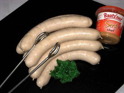 Lammbratwurst, Bratwurst vom Lamm (ohne Schweinefleisch) 500g