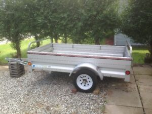 2014 Stirling Aluminum Trailer