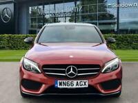 2016 Mercedes-Benz C-CLASS C 300 h AMG Line Saloon Auto Saloon Diesel Electric A