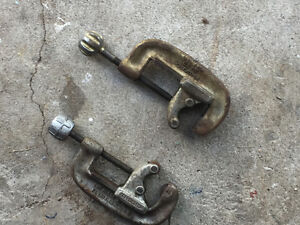 Two Copper Pipe Cutters