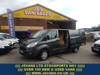 2015 65 FORD TRANSIT CUSTOM 2.2 290 TREND LONG WHEEL BASE 1 OWNER ONLY 19000 MLS