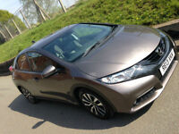 Honda Civic 1.6i-DTEC ( 120ps ) 2013MY EX