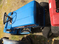Set on lawn mowers and tiller for parts also push mowers