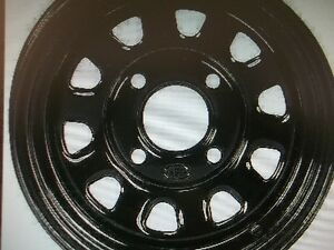 NEW ITP DELTA 12 inch RIMS black or silver $39.90 each!! Kingston Kingston Area image 1