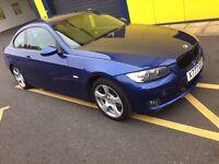 QUICK SALE BMW 320D COUPE AUTO BLUE COlOR 57REG