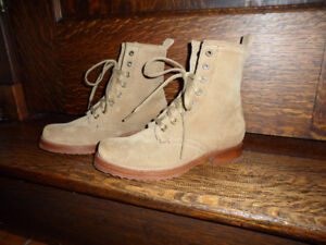 ***FRYE*** VERONICA COMBAT BOOTS- SIZE, 5- 1/2