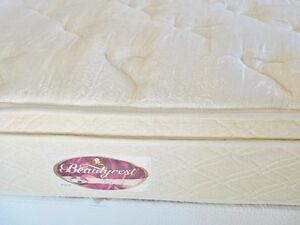 Simmons Beautyrest King bed and mattresses