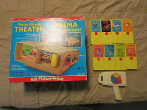 fisher price Movie Viewer Theater,8 discs and hand viewer London Ontario image 1