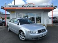 2003 Audi A4 TDI SE (130BHP) Silver Used Car Greater Manchester 1.9 4dr