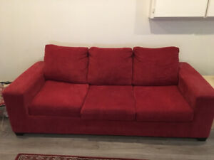 New Red Sofa   Queen & Double Storage Beds also more MOVING