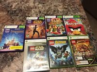 Xbox Kinect and 360 games